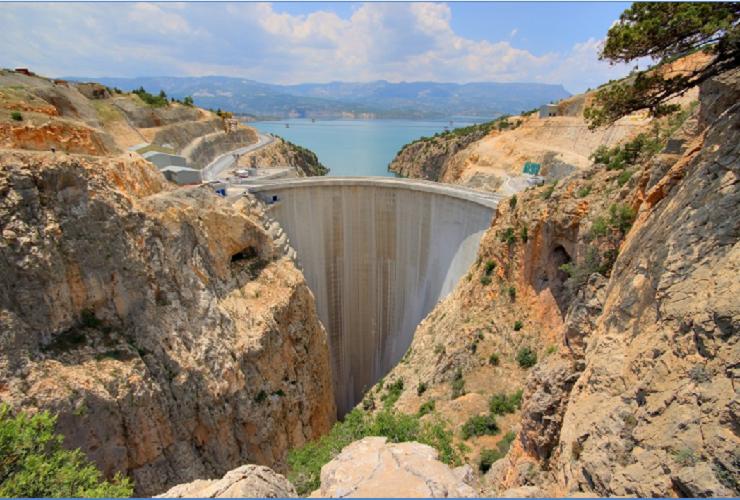 Diga Ermenek Centrale idroelettrica. Rapporto sulla stabilità e valutazione progetto